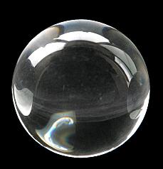クリスタルボール無地 φ50mm
