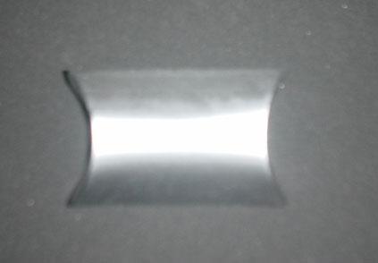 ペンダント用化粧紙ケース シルバー