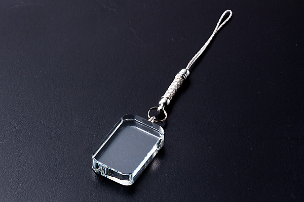 携帯ストラップ(コーナー丸)