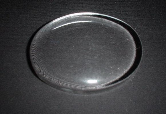 ガラスペーパーウエイト・楕円 白紙ケース付