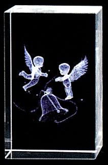 3D ベルと天使