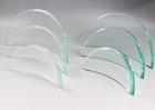 新商品 ガラス盾カーブ型